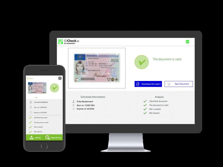 service de verification d'identité